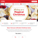 $15 off $135 Spend + Free Delivery For First Order / New Customers @ Coles