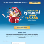 Win over $20,000 Worth of Prizes from The West Australian / Sunday Times (WA)