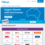 Collect 10,000 Bonus flybuys Points or $50 off with $50+ Spend/Week for 4 Weeks @ Coles (in Store & Online C&C or Delivery)