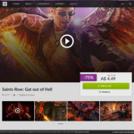 [PC] DRM-free - Saints Row: Gat out of hell - $4.49 AUD - GOG