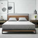 Zinus Ironline Queen Bed Frame $239 + Free Delivery to Most Areas @ Zinus Australia via eBay