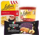 Latina Fresh Pasta 625g + Sauce 700g + La Famiglia Stone Baked Sourdough Garlic Bread: All for $10 (In-Store Only) @ Woolworths