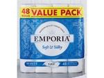 Emporia 3 Ply Toilet Tissue 48Pk $14.99 @ ALDI Special Buys