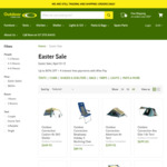 Up to 80% off Camping Gear + Delivery ($0 to Select Area with $95 Spend, e.g. Escape 6 Plus Tent $199) @ Outdoor Connection