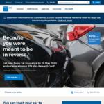 Get New Bupa Car Insurance by 28 May 2020 and Receive a Bonus $75 Visa Reward Card
