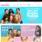 50% off Everything + Free Shipping over $15 @ Australis Cosmetics