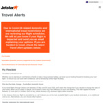 Jetstar Offering Free Change Fee for Domestic Flights [for Travel from June 12 to 31 October] @ Jetstar.com