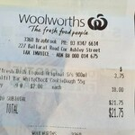 Fulfil White Chocolate & Cookie Dough Protein Bar $2 at Woolworths (Half Price)