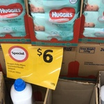 [VIC] Huggies Baby Wipes 3x80 Pack $6 @ Coles Mitcham