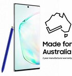 Samsung Galaxy Note10+ Smartphone with S Pen, Aura Black/Glow $1279 Delivered @ Amazon AU