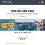 [NSW] Sydney Harbour Bridge Climb Adult $198, Kids $99-$126 (35-50% off)