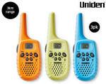Uniden UHF Handheld Radio 3 Pack $49.99 @ ALDI