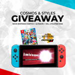 Win a Nintendo Switch & Smash Fighter Bundle from Cosmos & Styles