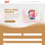 Free Bref Deluxe Fragrance Rim Block Toilet Flush Cleaner Sample Delivered @ Bref