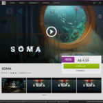 [PC] DRM-free - SOMA - $4.59 (was $45.89) - GOG