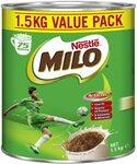 Nestle Milo 1.5kg $14.20 + Delivery ($0 w/ Prime/ $39 Spend) @ Amazon AU