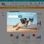 Revolution Dogs 6pks 5-10kg $54.50 10-20kg $58.50, 20-40kg $63.50, 3pks 2.6-5kg $28.5 (Free Shipping > $79 or $9.99) @ Pet House