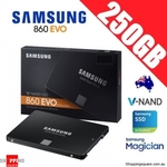 Samsung EVO 860 SSD 250GB $55.95 + Delivery @ Shopping Square