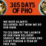 Win a 'Year of Pho' Valued at $6,200 from Hanoi Hannah [VIC]