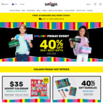 40% off Selected Products (Free Shipping over $100) @ Smiggle