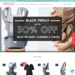 Up to 30% off Baby Carriers & Wraps @ Pognae Australia [No.5 Plus Baby Carrier Grey/Denims $244.30 Delivered - RRP $349]
