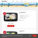"TomTom Go Supreme 5"" GPS $209.30, Go Basic 5"" $160.30, TomTom Rider 550 $359.40 Shipped @ TomTom"