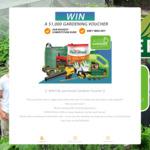 Win a $1,000 Voucher from Aussie Gardener
