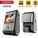Viofo A119 V2 Dashcam US$53.47 (A$70.66), Viofo A119 V3 Dashcam US$84.41 (A$111.55) Delivered @ VIOFO Official Store AliExpress