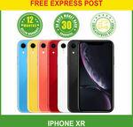 Apple iPhone XR 64GB 128GB $710/ $750 Delivered @ Ozwonderland eBay
