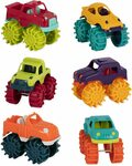 Mini Monster Trucks, Set of 6 $10.26 (RRP $16.95) + Delivery ($0 with Prime/ $39 Spend) @ Amazon AU