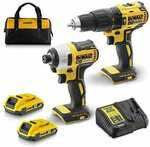 Dewalt 18V XR Li-Ion 2.0ah Hammer & Impact Drill 2 Piece Kit DCK2060D2XE $199 (Was $379) + Delivery / Pickup @ Mitre 10