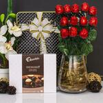 Valentine's Chocolate Roses Gift Hamper $25 (+ Delivery) Was $69.95 @ Hamper World