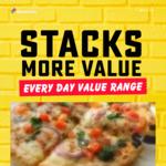Value Range Mini Pizzas $3, Extra Large $7 (Was $8) @ Domino's Pizza