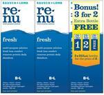 Bausch & Lomb Renu Fresh 3x 355ml (+ $10 CW Gift Card by Redemption) $15.99 @ Chemist Warehouse