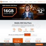 Internode SIM Only Plan, 40GB Unl. Talk & Txt for $15/Month for First 6 Mo's ($29.99 Thereafter, New Customers)