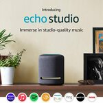 Amazon Echo Studio $279.00 (RRP $329) Delivered @ Amazon AU ($265.05 Officeworks Price Beat)