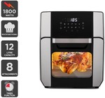 Kogan 12L 1800W Digital Air Fryer Oven $99 | 12L Rotary Air Fryer $69 + Delivery (Free Delivery with Kogan First) @ Kogan