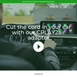 CPLAY2air Wireless Adapter for Factory Carplay US$99 (~A$127.95, Normally US$159.95) Delivered @ Cplay2air