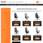 10% off All Ergonomic Chairs for Home Office ($269.10-$896.35) & Free Shipping @ Retail Display Direct