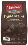 ½ Price - Loacker Quadratini Wafers Biscuits Double Choc $1.25 @ Coles