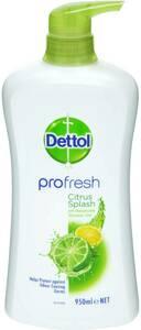 Dettol Profresh Shower Gel Body Wash Lemon and Lime 950ml $4.25 @ Woolworths