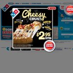 Domino's 3 Traditional Pizzas, Coke and Garlic Bread All Delivered for $25