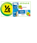 50% off ALL Oral-B Products @ Woolworths (ie Pro500 for $19.95 after $30 Cashback RRP: $99.95)