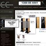 Usher Mini Dancer 2 Floorstanding Speaker $2850 (Pair) -Choice of Colours- EX Display Clearance