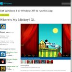 Where's My Water?, Where's My Mickey? XL, Where's My Perry? - Free in Windows 8 Store