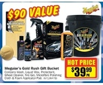 Meguiar's Gold Rush Gift Bucket $39.99 @ Repco. $90 Value