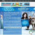 "Free Download of Demi Lovato's ""Let It Go"" (Frozen)"
