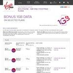 Virgin Mobile Bonus 1GB on BYO and Handset Plans