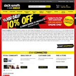 10% off at Dick Smith Online