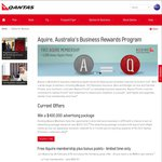 Qantas Aquire 5,000 Points + Free Membership + No Annual Fee - ABN Required